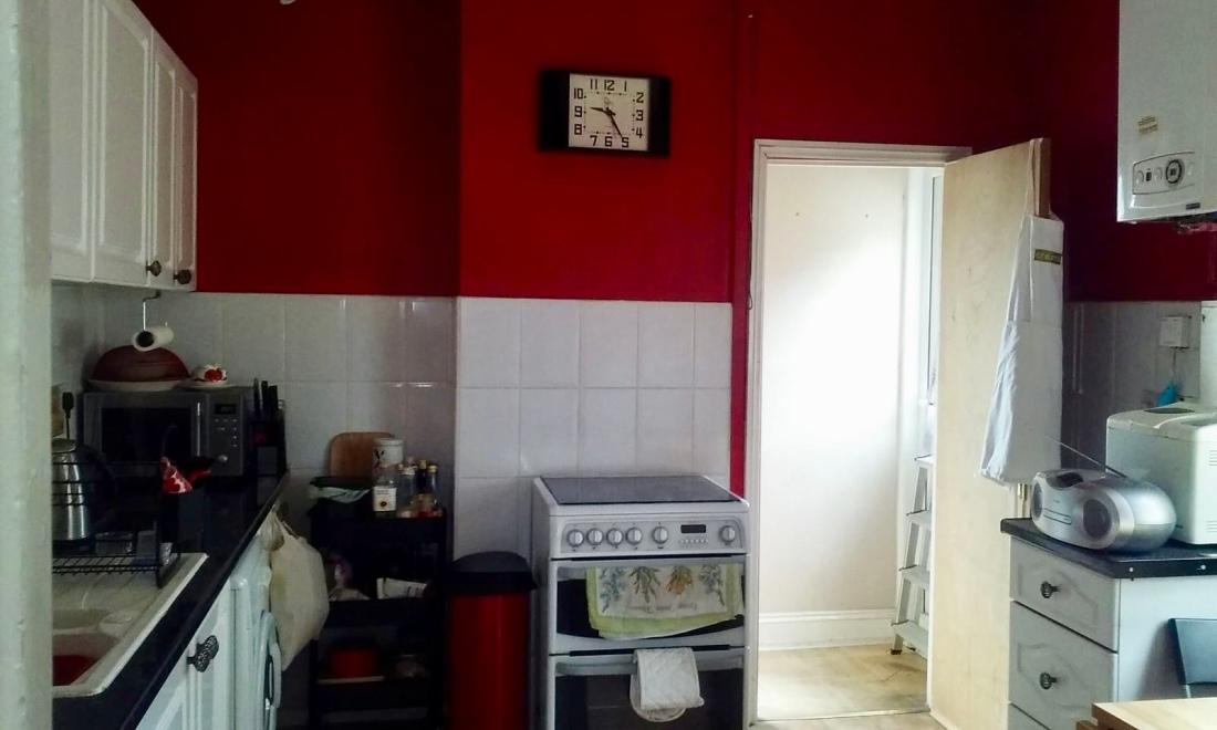 H kitchen hob