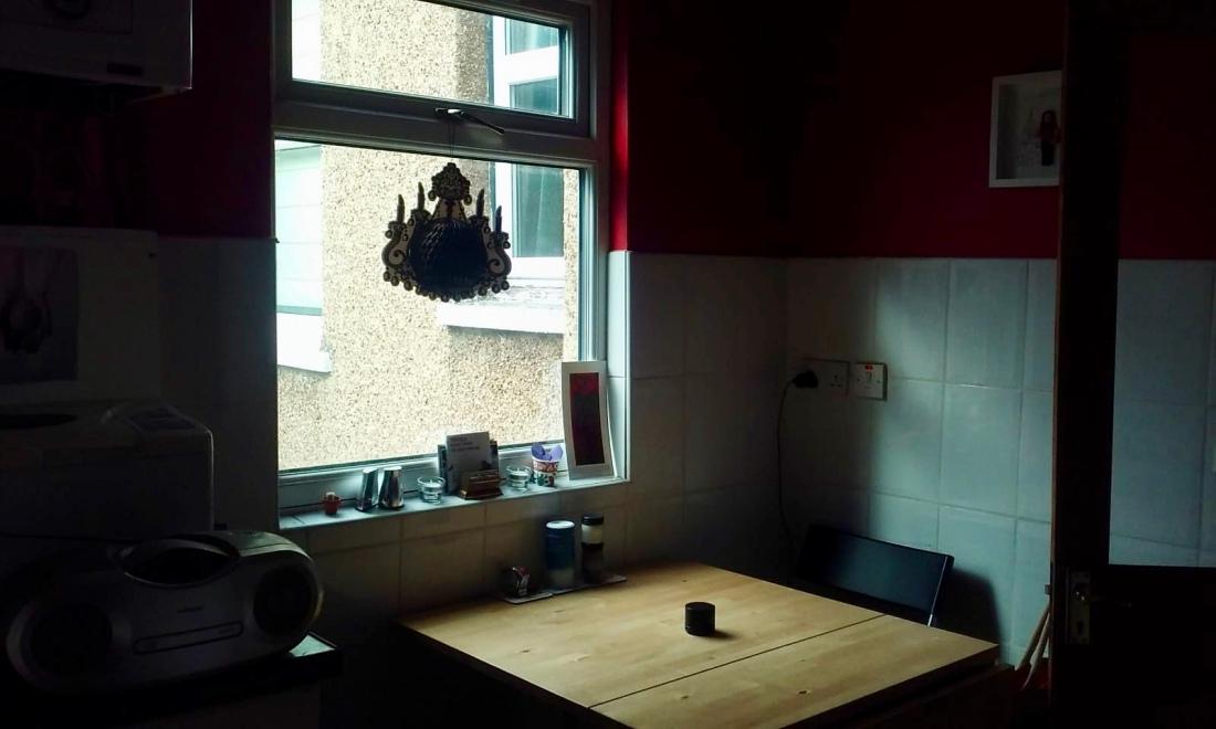 H Kitchen Window