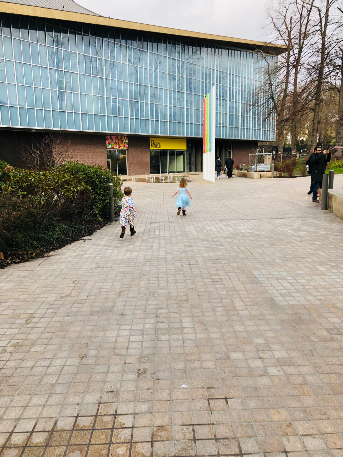 two go to the design museum