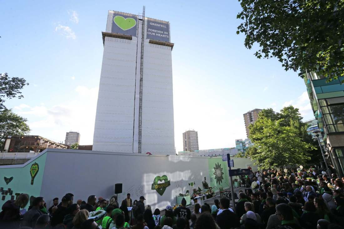 12 Grenfell March